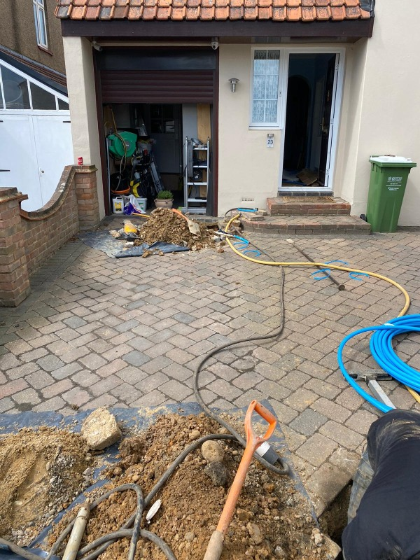 Lead Water Pipe Replacement West London Wentworth Moling Services