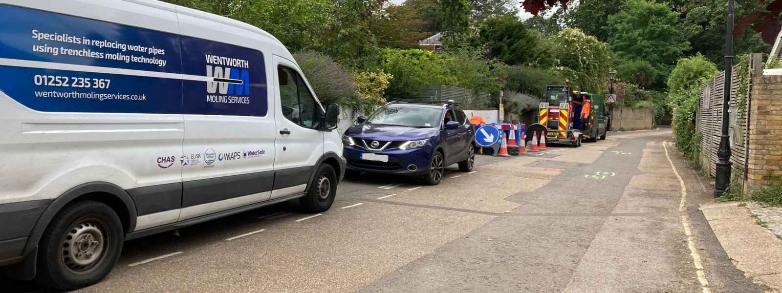 Domestic and Commercial Groundworkers Wentworth Moling Services